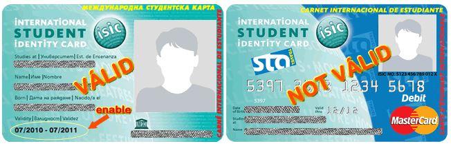 ISIC card valid ticket machu picchu
