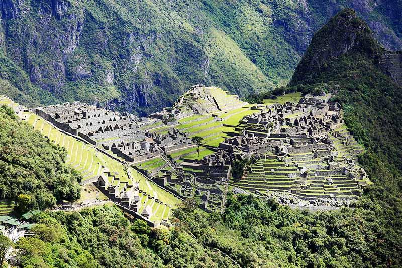 Machu Picchu desde lo alto
