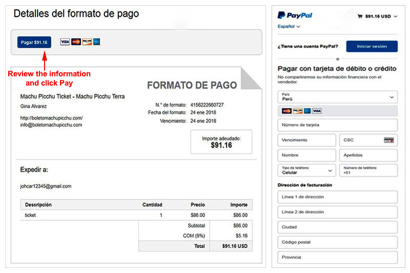 How to buy the Machu Picchu Tickets?