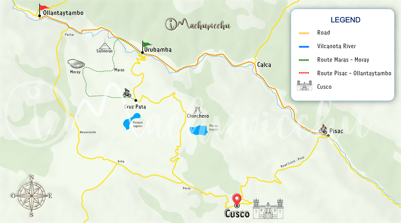 Map to get to Oropesa