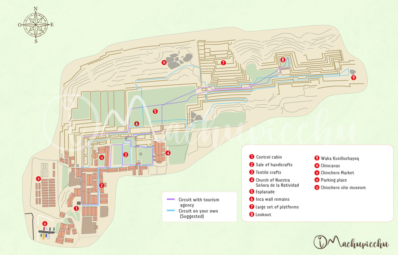 Map Chinchero