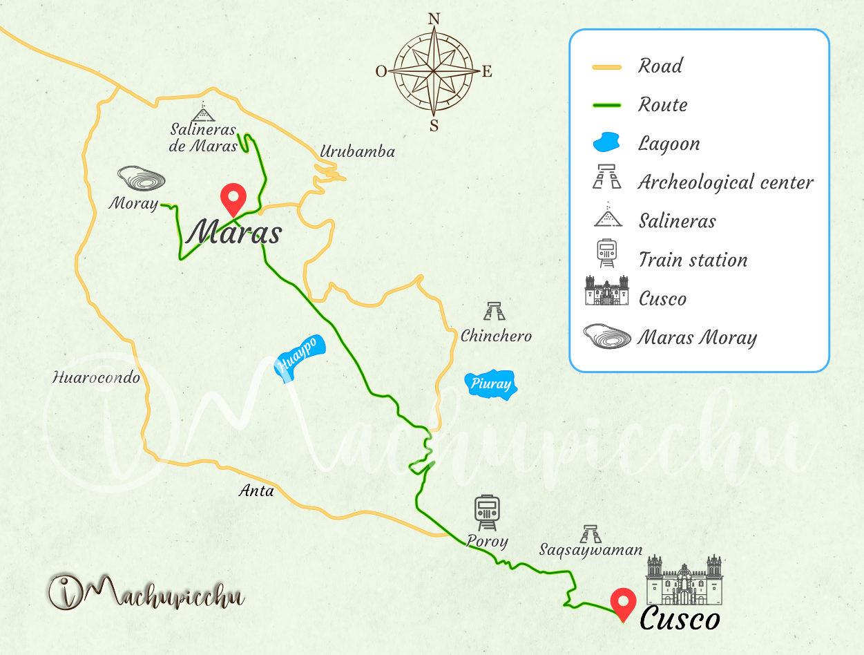 Map Moray